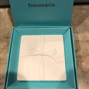 Tiffany & Co. White Ceramic Fragrance Blotter Tile